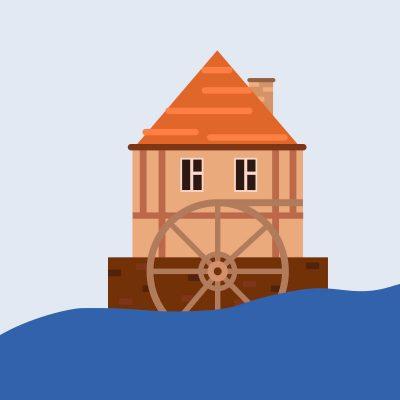 Grafik Mühle