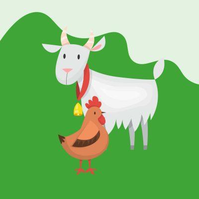 Grafik Vieh